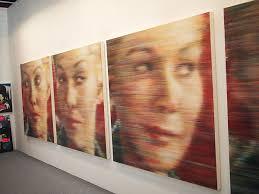 NOISE MADELEINE海老原靖Yasushi EBIHARA 162×162cm each oil on canvas - 8e840ed8ecf13cf0b00974e0b7dd8f91