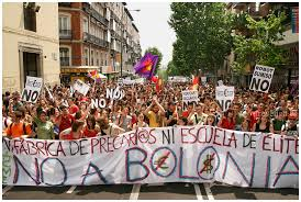 Estudiantes contra 'Bolonia'