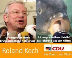 ... bis der Schmierfink der CDU, Roland Koch wieder an der Macht ist. - roland-koch