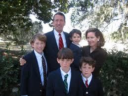 Mark and Jenny Sanford Family