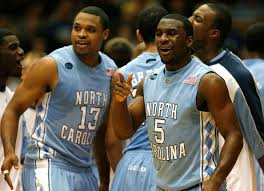 Ty Lawson #5 and teammate Will