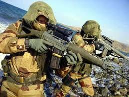 Les commandos marine :