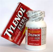 There is a Tylenol recall