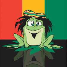 Rasta Frog!