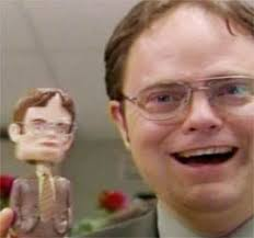 Big Dwight with little Dwight