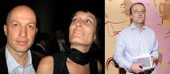Left: Art Basel director Sam Keller with Judith Keller. - article06_wide