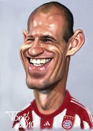 Cartoon: Arjen Robben (medium) - arjen_robben_1021735