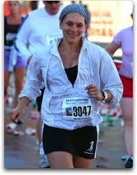 the Columbus marathon in
