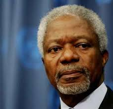 Annan must visit Washington instead