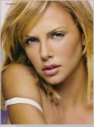 Charlize Theron is said to have the most perfect skin.