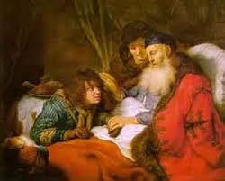 יצחק במרך את יעקב במקום את עשיו