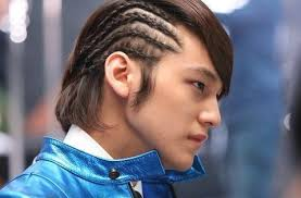Kim Bum rocks the cornrows as - kim_bum_20091126_cornrow_braids