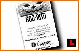 Chipotle Free Burrito Day