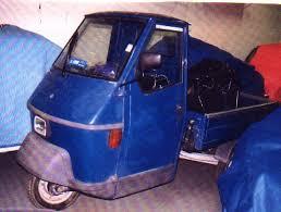 1975 Vespa Ape Pickup, 50cc,