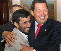 احمدی نژاد و هوگو چاوز