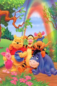 817571~Winnie-the-Pooh-Group-Rainbow-Posters