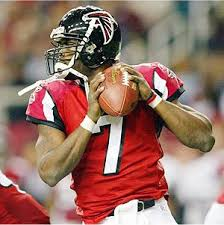 Michael Vick as a Falcon QB
