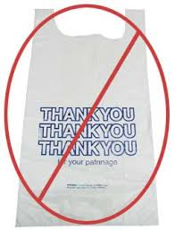 Stop using plastic shopping bags!!!!