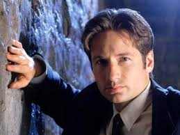 David Duchovny (agent Mulder) a vu un ovni. Images