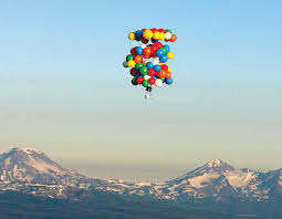 Uz pomoć balona-igračaka preletio 500 kilometara