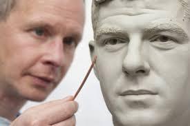 The making of Steven Gerrard\x26#39;s - gerrard_waxwork1