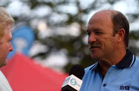 Wally Lewis Former Rugby League great Wally Lewis (R) is interviewd by the ... - Rugby+League+World+Cup+Public+Fan+Day+jok9pVuK2wCl