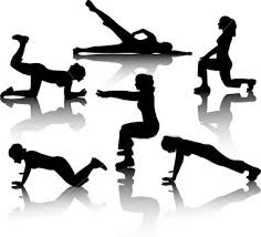 exercises for weight loss, variety wihout tools