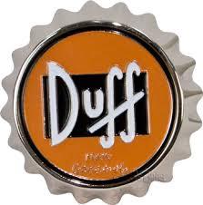 Duff Beer Cap Belt Buckle