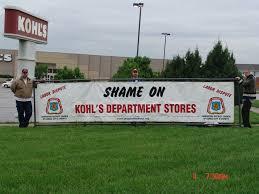 Shame on Kohls!