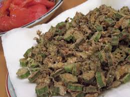 sabhi bhindi (fried okra with cumin)