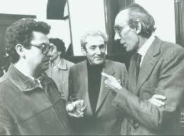 Josep Benet (a la derecha de la imagen) con Marcelino Camacho
