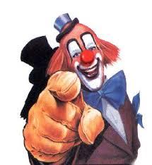 Folie passagère n° 12 - Vive l'Euro ! clown