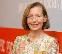 Montserrat Tura ('Consellera' de Justicia de la Generalitat de Cataluña)