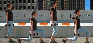 Sample Routine - 3 day No equipment Bodyweight: Intermediate Walking-lunge_0