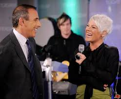 co-host Matt Lauer before
