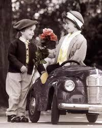 اطفال جميلة منتهي الرومانسية Auto-Romance--C10099