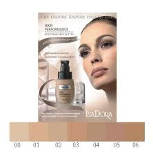 IsaDora High Performance all-day foundation ... - isadora_high_performance