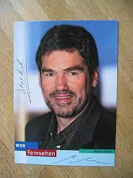 WDR Fernsehmoderator Michael Thamm - hands. Autogramm! - 17210478
