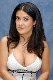 Sexy boobs of Salma Hayek