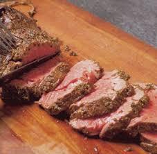 When I cook a beef tenderloin