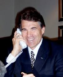 Rick Perry, seen here on his - RickPerry