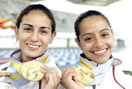 Paola Espinosa y Tatiana Ortiz