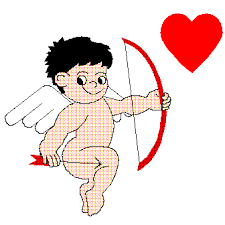 Point at me, Cupid!