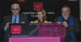 Buesa, Díez y Savater (miembros destacados de UPyD)