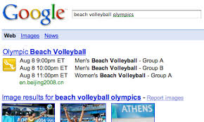 Google Adds Olympics One Box
