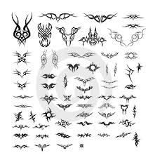 assorted celtic tribal tattoos