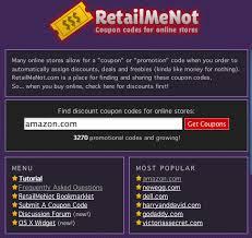 Retailmenot.com is a