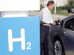 Posto com hidrogênio combustivel