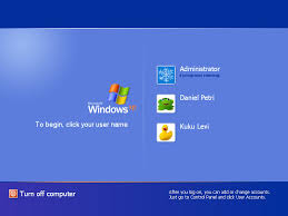 How to Change the Welcome/Login Screen in Windows XP ?