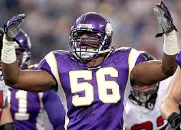 Vikings LB E.J. Henderson